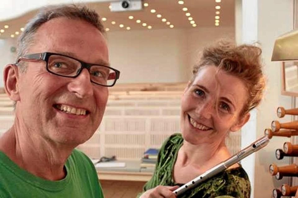 Onsdag 10. juli kan man høre musik for fløjte og orgel i Vidstrup Kirke.