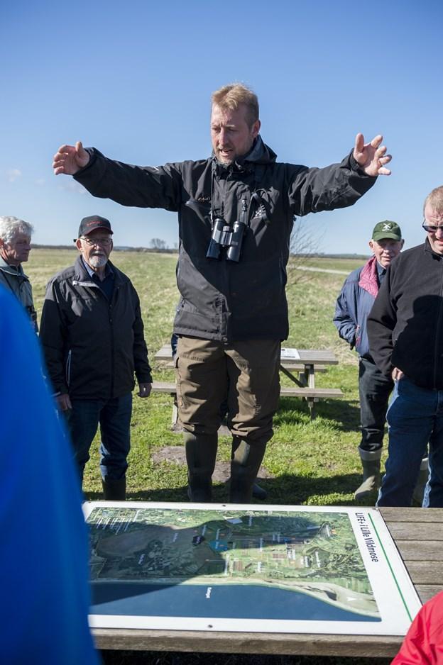 Centerdirektør Bo Gregersen er begejstret over, at Lille Vildmose nu officielt er udpeget som et af landets skønneste naturområder. Arkivfoto: Nicolas Cho Meier