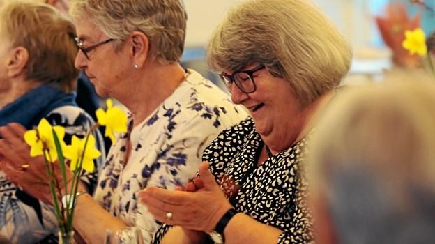 Omkring 50 deltagere hyggede sig ved arrangementet. Foto: Allan Mortensen Allan Mortensen