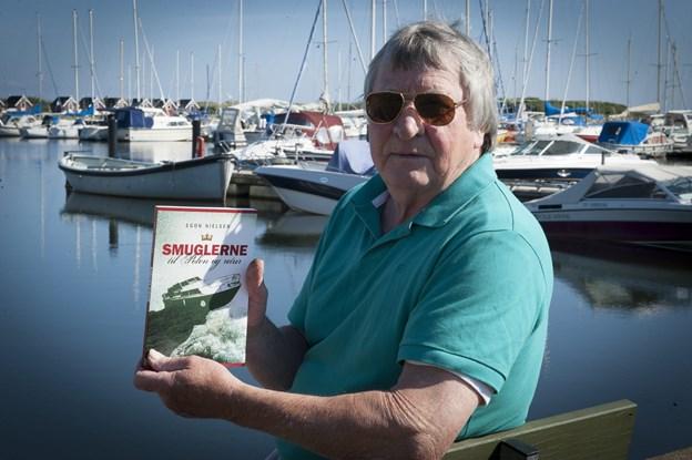 """Forhenværende tolder, Egon Nielsen har skrevet bogen """"Smuglerne til Polen og retur"""". Han lægger torsdag vejen forbi Hassinghave. Arkivfoto: Kim Dahl Hansen"""