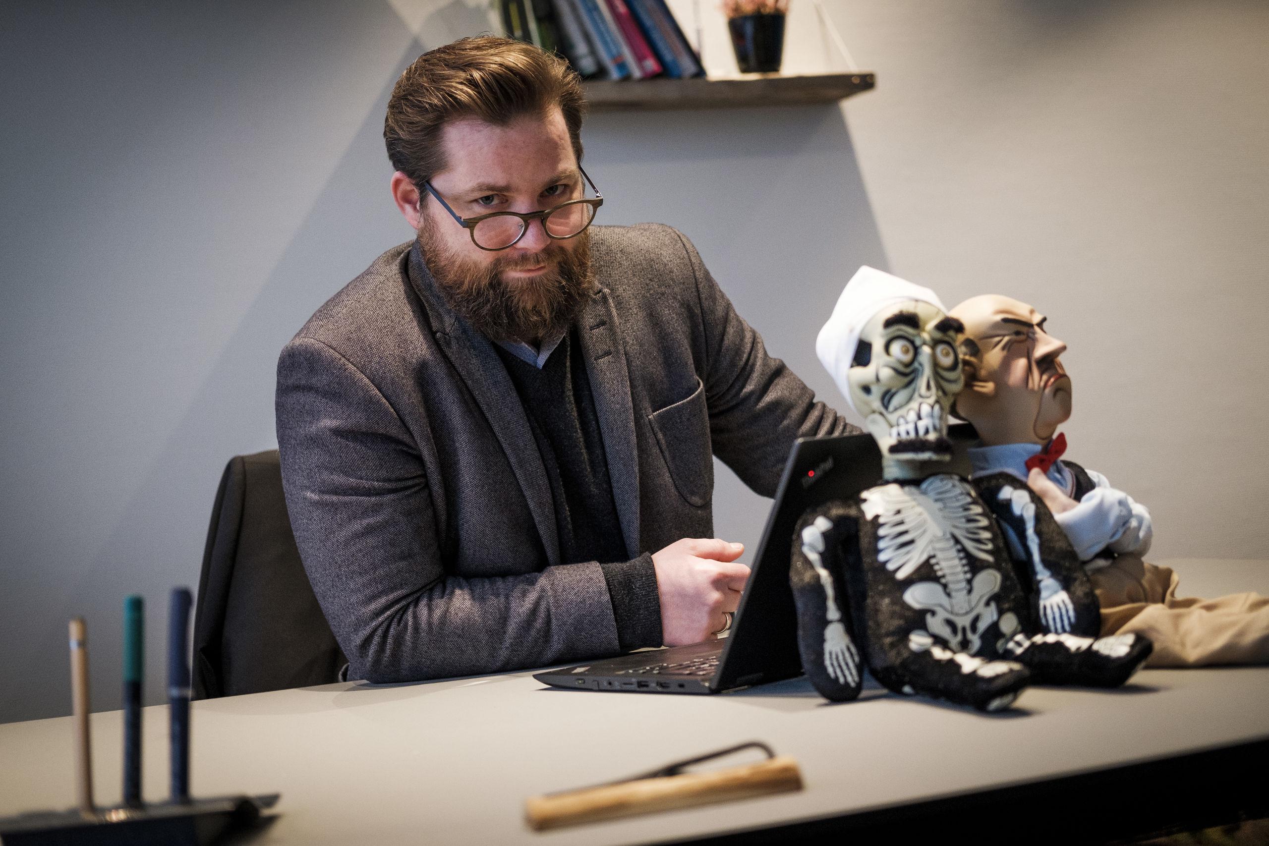 Nicolaj Holm har allerede trukket store navne til byen, og han har planer om at gøre det endnu større i fremtiden. Foto: Lasse Sand