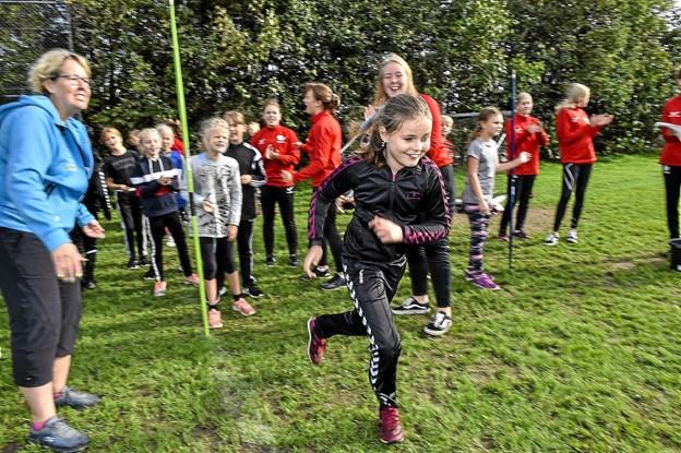 Holdstafet skolerne i mellem. Foto: Ole Iversen