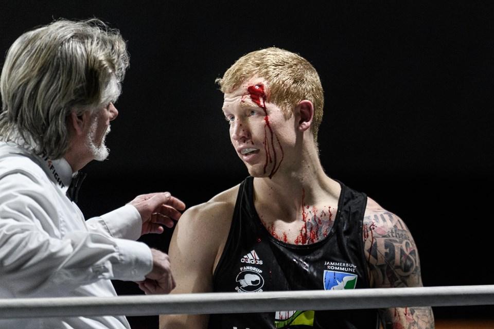 Torben Kellers comeback til bokseringen efter fire år blev særdeles blodigt, men viste også, at han stadig er en fremragende bokser. Foto: Nicolas Cho Meier