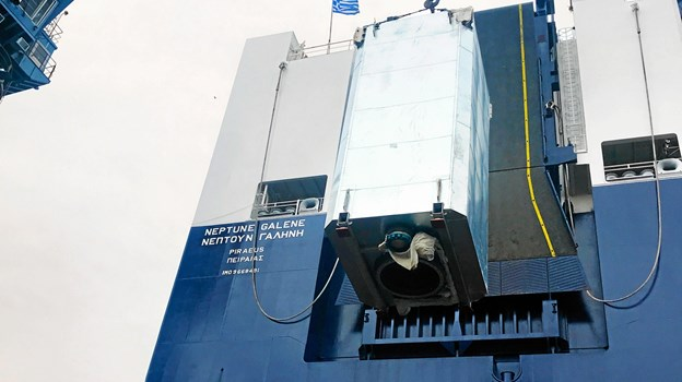 De to første scrubbere er installeret i Neptune Lines skibe