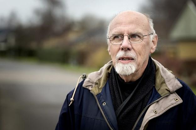 Formanden for Gistrup Beboerforening, Karl Korfits, kunne berette om et på alle måder særdeles begivenhedsrigt år for den lokale forening. Arkivfoto: Torben Hansen