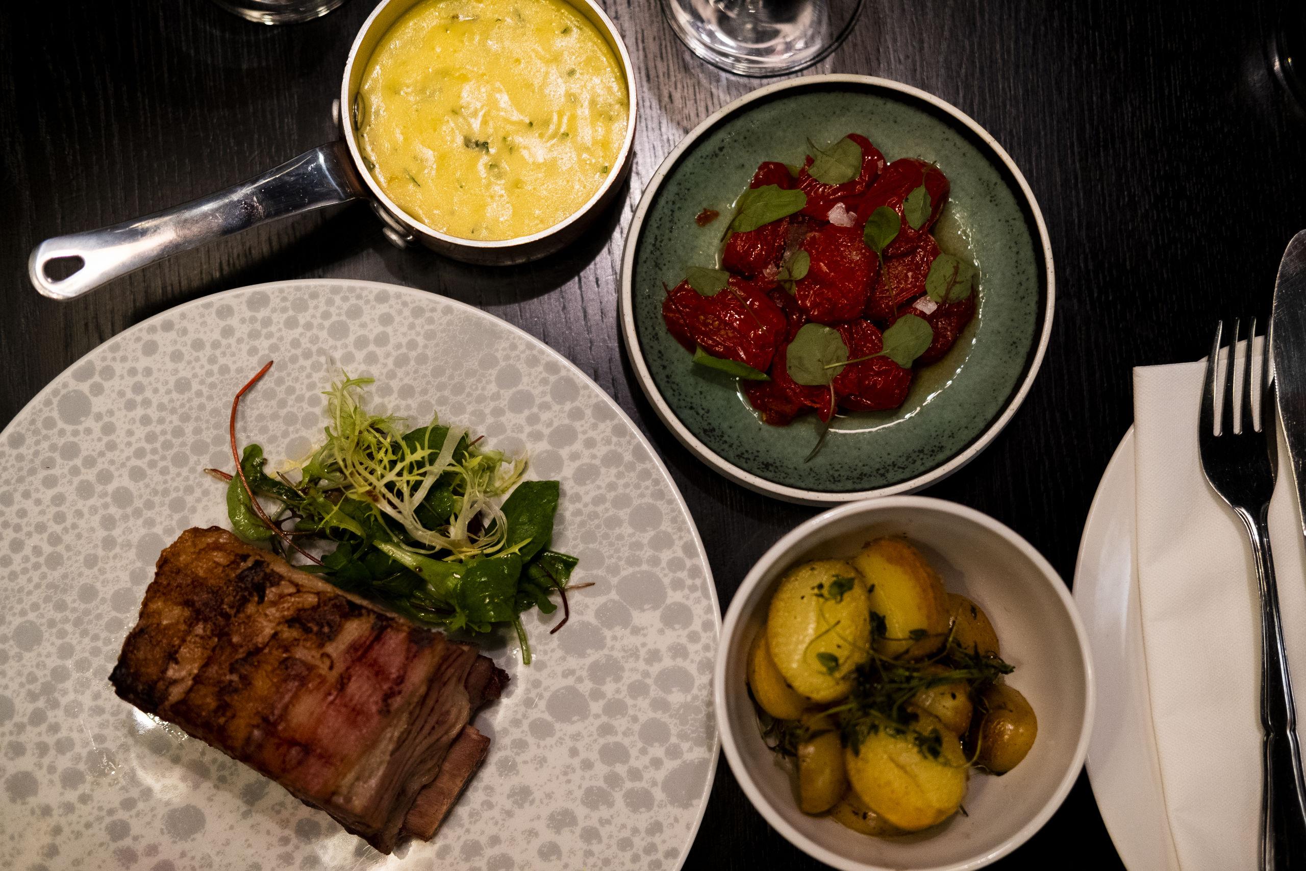 Slagterbørsens koncept bygger på menuer, der kredser om specialudskæringer fra Guldrummet. Foto: Lasse Sand