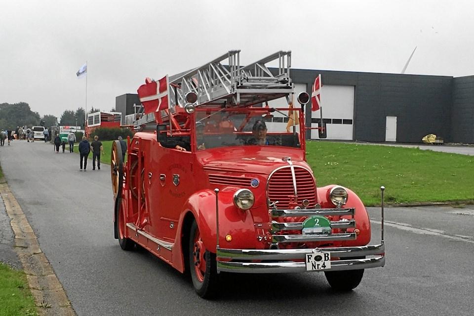 Brandbil med udrykning gav stor begejstring.