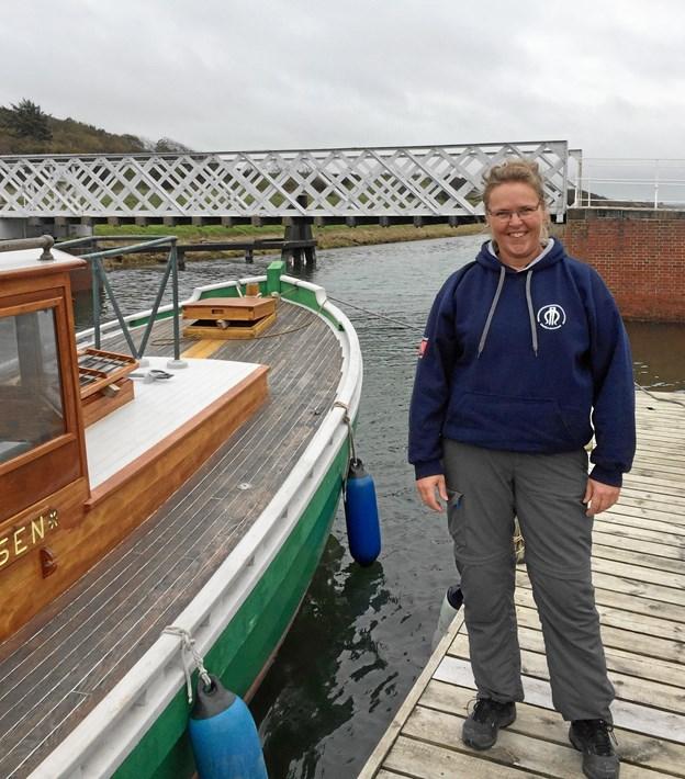 Tine Pedersen er ny formidler på Limfjordsmuseet.