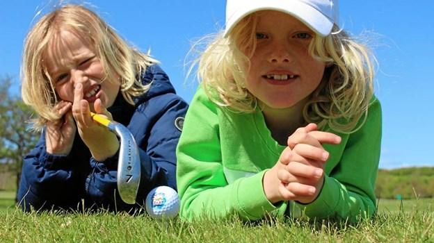 Mariagerfjord Golfklub er også med, når de til august inviterer alle børn og unde til Sjov sommergolf. Foto: Danske Golfklubber.