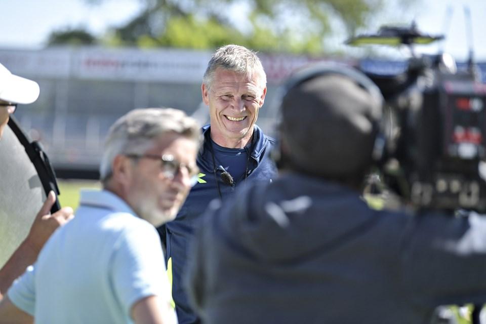 Hjørring Idrætsforening får en markant nordjysk fodboldprofil som træner. Mogens Krogh har spillet 464 kampe for. Han har været udtaget 50 gange til det danske landshold. Arkivfoto: Bent Bach
