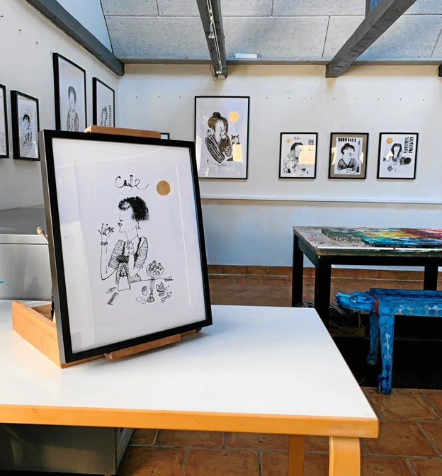 Jonna Adelborgs atelier i Tranum er atter ramme om en udstilling.