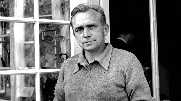 Forfatteren Martin A. Hansen. Privatfoto.