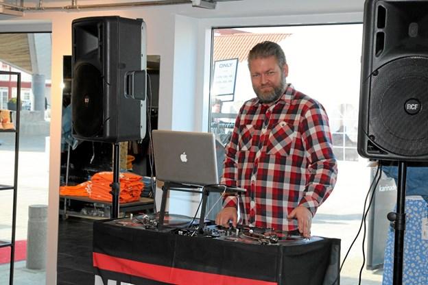 Tom NeedleSplit Hummeluhr sørgede for musik. Foto: Flemming Dahl Jensen Flemming Dahl Jensen