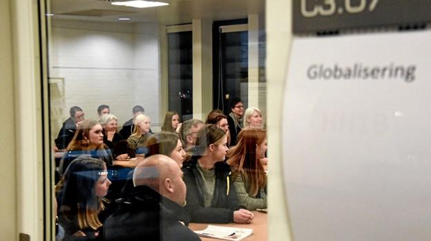 Der var stor interesse for åbent hus. Foto: Kathrine Astrupgaard Münter