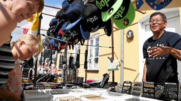 Der er torvemarked hver onsdag i Hals. Foto: Allan Mortensen Allan Mortensen