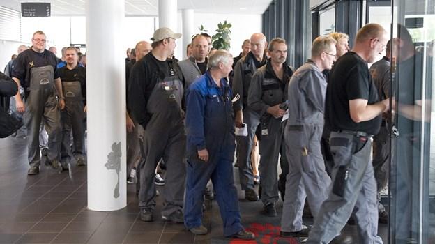 Krise på MAN diesel Foto: Carl Th. Poulsen