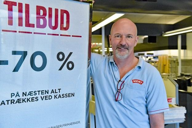 Henrik Nørmølle går tilbage til slagterfaget, som medejer af Hurup Slagterforretning. Foto: Ole Iversen Ole Iversen
