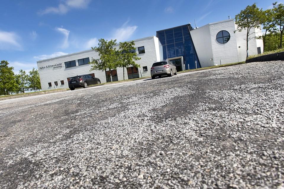 Bureauet har hjemme i Kultur- og Erhvervscentret ved Søparken i Aabybro. Arkivfoto: Torben Hansen Torben Hansen