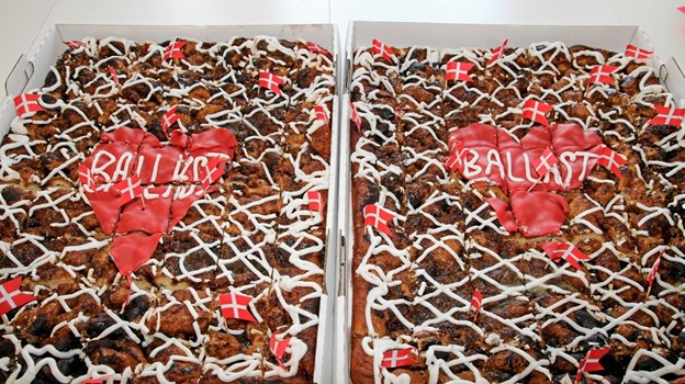 Ballast kage til alle. Foto: Flemming Dahl Jensen Flemming Dahl Jensen