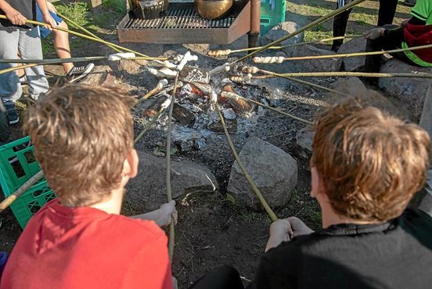 Efter løbet var der hygge med varm kakao og snobrød over bålet. Foto: Niels Helver