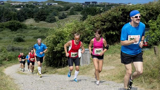 Blokhus Marathon er udvalgt til at få del i Sol og Strands lokale håndsrækning. Foto: Henrik Bo