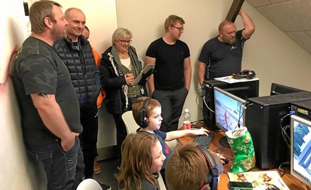 Flere foreninger i Jerslev havde møde med DGI. Privatfoto