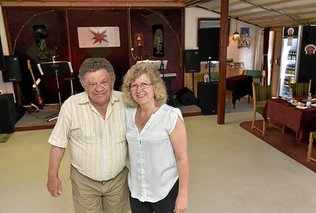 Parrets øve og indspilningsrum er nu omdannet til dansesal med plads til op til 75 glade gæster hver 1. lørdag i hver måned. Foto: Ole Iversen