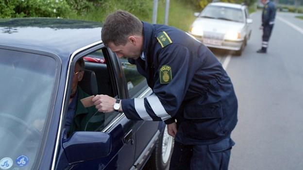Politiet er klar med ekstra kontrol ved skolerne. Arkivfoto