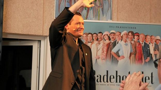 Badehotellets hr. Weyse, hvis rigtige navn er Jens Jacob Tychsen. Foto: Flemming Dahl Jensen
