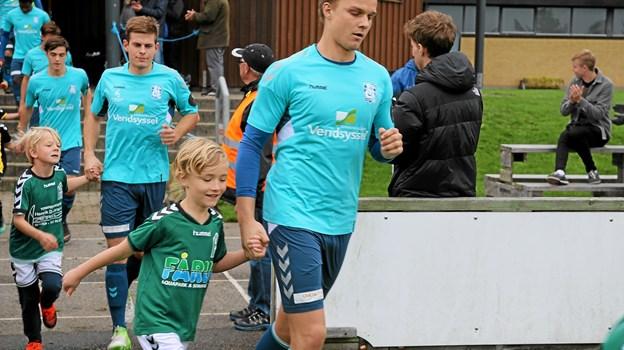 Søren V. Pedersen har forlænget kontrakten med Jammerbugt FC frem til og med 2020. Foto: Flemming Dahl Jensen