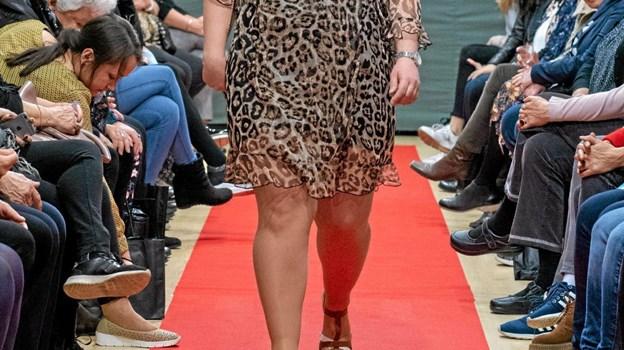 Louise i det nye moderigtige forårslook. Foto: Privatfoto Privatfoto