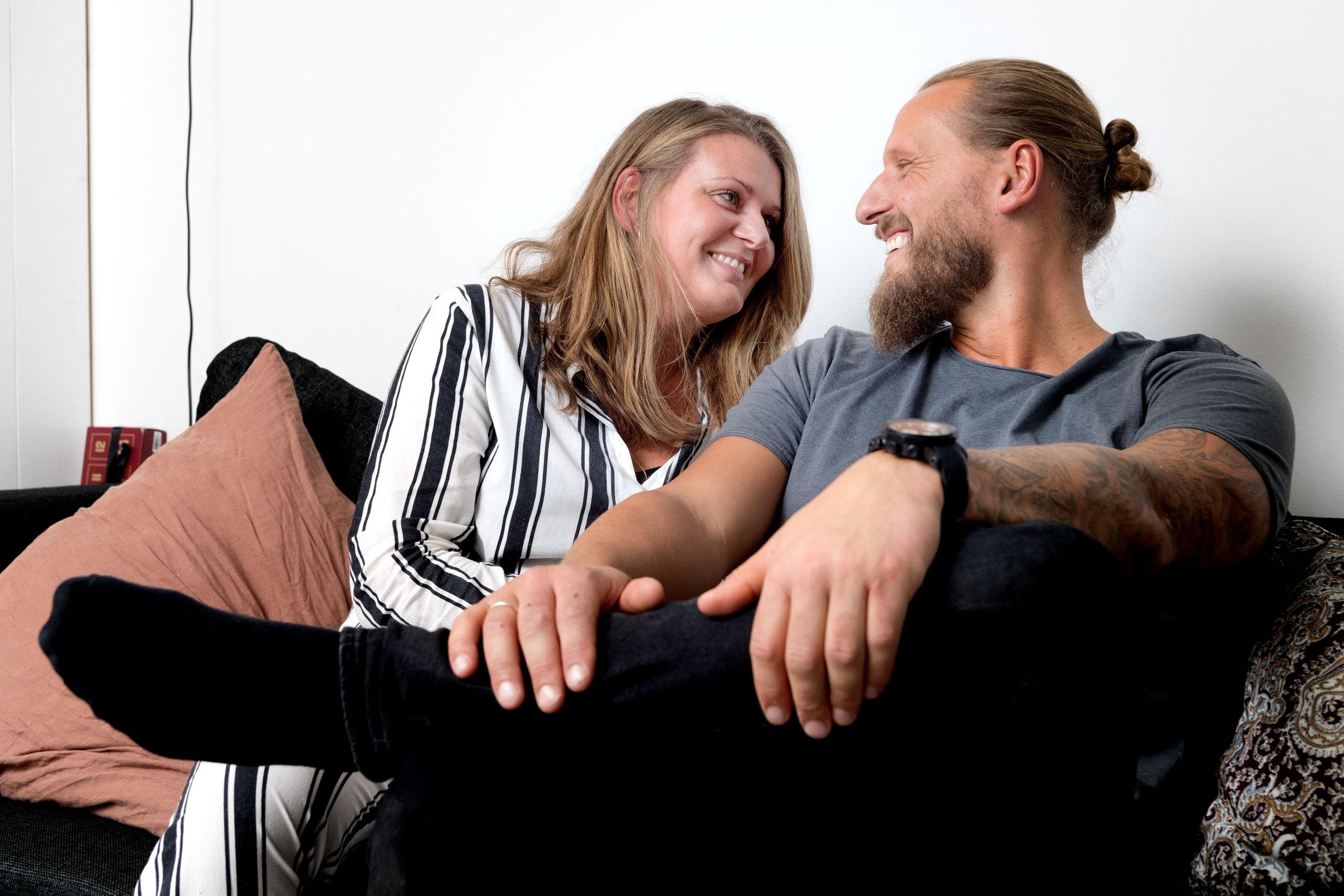 Tanken bag julefesten er, at ingen skal sidde alene juleaften, siger Trine og Henrik Bakgaard. Foto: Torben Hansen