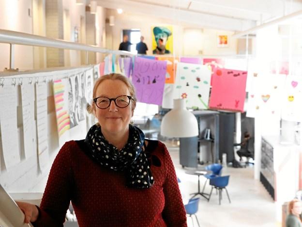 Billedkunstner og kunst og kulturformidler Mette Elimar Jensen er initiativtager til projektet.