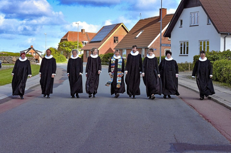 Det er blevet en tradition at præsterne samles i samarbejdet om den store pinsegudstjeneste, som sidste år samlede 600 mennesker. Ole Iversen
