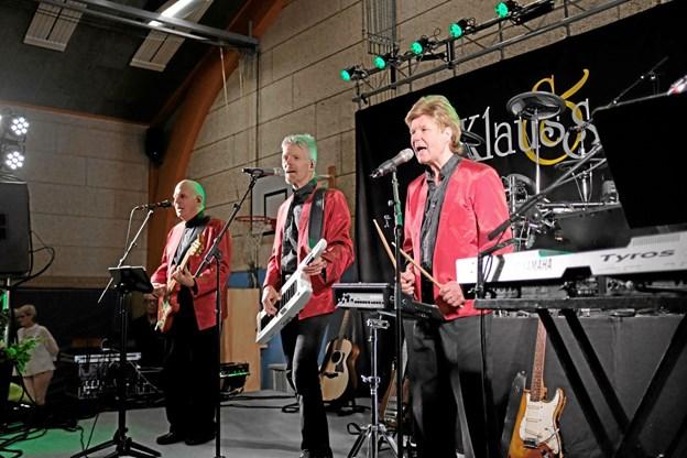 Klaus og Servants består af Klaus Strand-Holm, Jan Tellefsen og Hans Dos Santos Madsen. Foto: Niels Helver Niels Helver