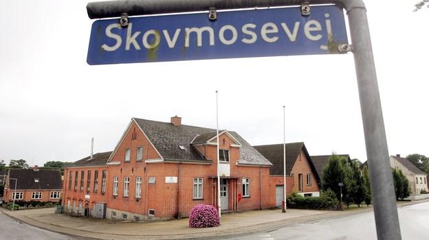 Den traditionelle juletræsfest i Rørbæk foregår i forsamlingshuset 28. december. Arkivfoto
