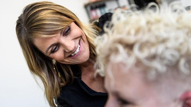 Lotte Libak udvider nu sin forretning med endnu en ansat og flytter i større lokale.Foto: Nicolas Cho Meier