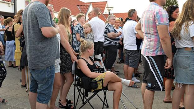 Foto: Bent Bach Blokhus Torv, torsdags koncert, Hjalmer.
