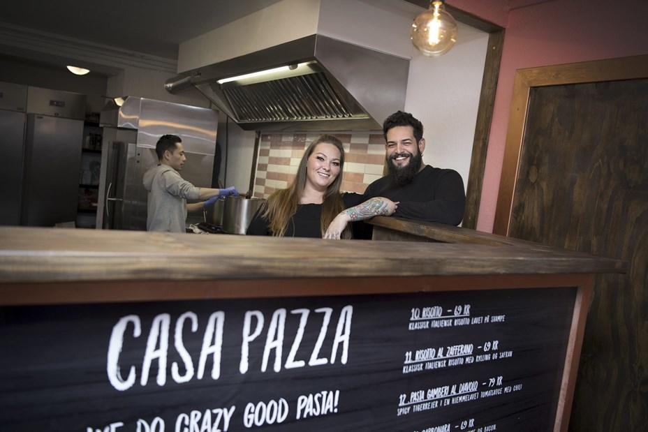 Mere gratis mad: Casa Pazza fejrer nyt take away sted