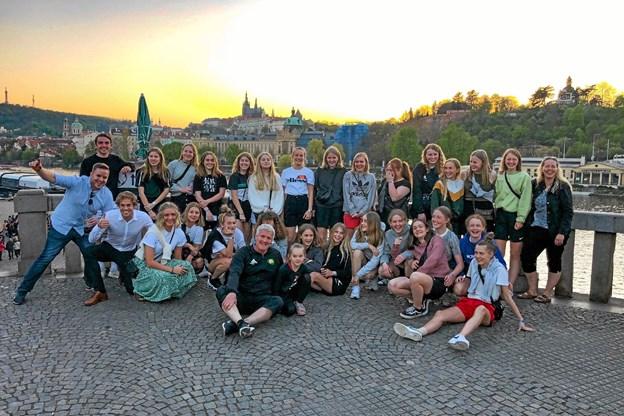 FC THY Peger havde en udbytterig tur til Prague Spring Cup.Privatfoto