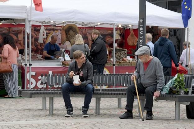 Markedet gør i år holdt i cirka en snes byer på landsplan Foto: Henrik Louis
