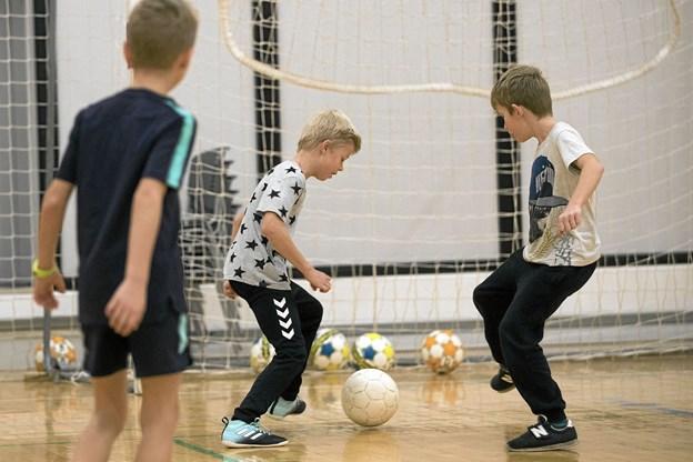 Håber er blandt andet at få de yngste til at drage nytte af de lokale idrætstilbud. Allan Mortensen