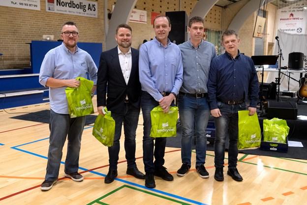 Team Kalle vandt Vendsyssel på Vægten i 2018 - i år indtog teamet andenpladsen i Tårs. Foto: Torben Hansen Torben Hansen
