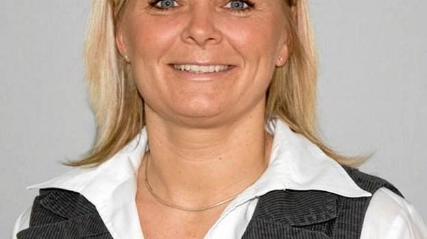 Filialdirektør Camilla Fisker inviterer alle borgere til et par times fest torsdag 25. oktober klokken 16 til 18. Privatfoto