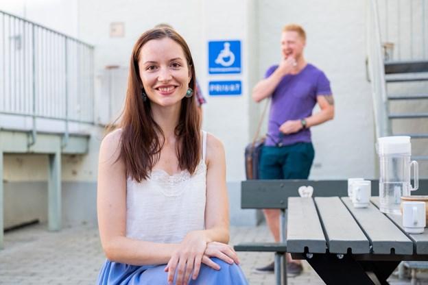 Anne Helene Kahr Thomsen og Lasse Sand