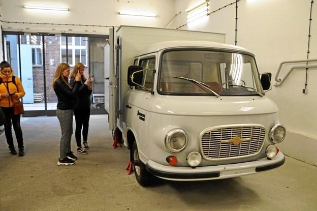 Mobilkameraerne var flittigt i brug under Berlin-turen. ?Privatfoto