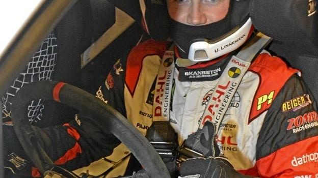 Ulrik Linnemann føler sig klar til at jonglere med de mange hestekræfter i den turboladede Honda Civic.