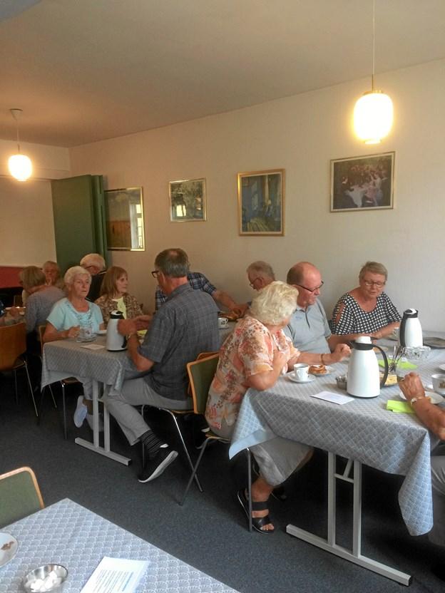 En gang om måneden frem til jul er der Spis Sammen arrangement i Skagen Baptist Kirke. Privatfoto