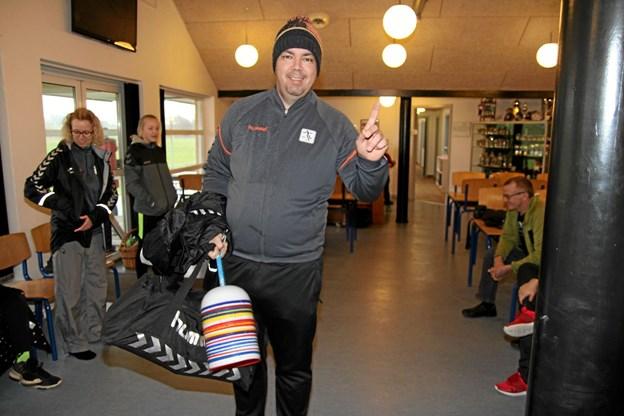 Mads Nysted Christensen skal træne U16 piger. Foto: Flemming Dahl Jensen Flemming Dahl Jensen