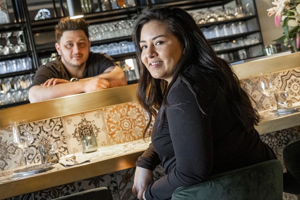 Her ses både Anne Menéndez og Kim Jeppesen, som på bare to og et halvt år har åbnet tre spisesteder i Aalborg. Foto: Lasse Sand